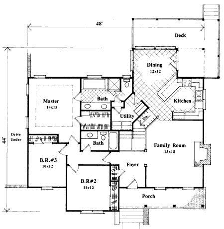 Plan 8711GM: Simple But Elegant
