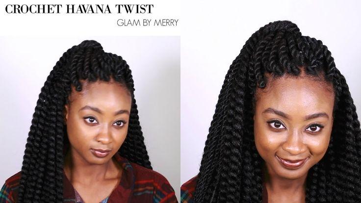 Havana Twist Crochet Braids || Invisible Method || Glam by Merry