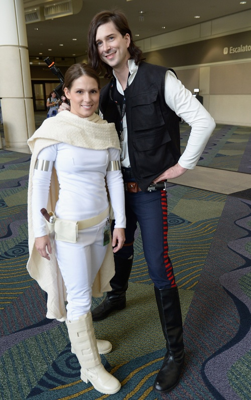Star Wars fans like these cosplayers gathered at the Orange County Convention Center in Orlando, Florida for Star Wars Celebration V! (Gustavo Caballero/Getty Images)