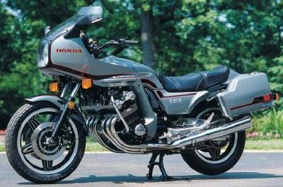 The original sport-touring bike, the Honda CBX.