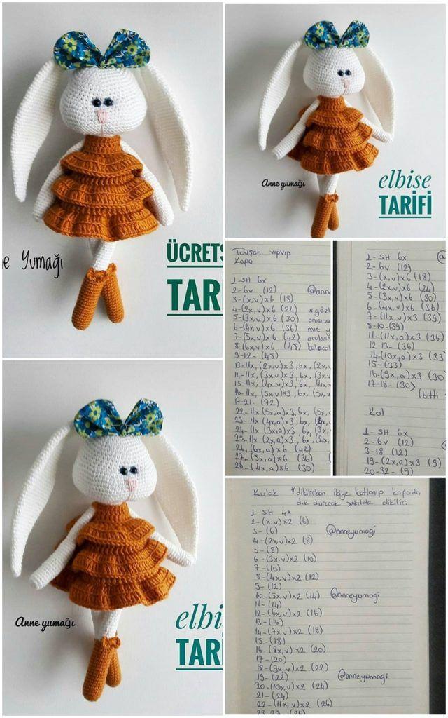 CraftsyAmore Crochet Fluffy Big Bunny Amigurumi Free Pattern ... | 1024x640