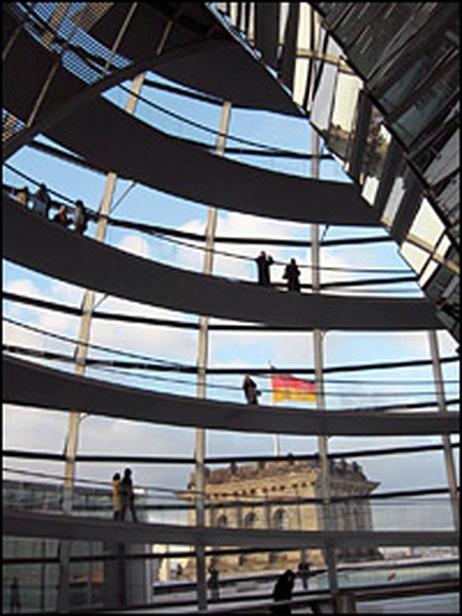 Reichstag dome - Dachgarten Restaurant