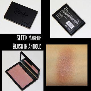 MichelaIsMyName: SLEEK Makeup Blush in Antique REVIEW