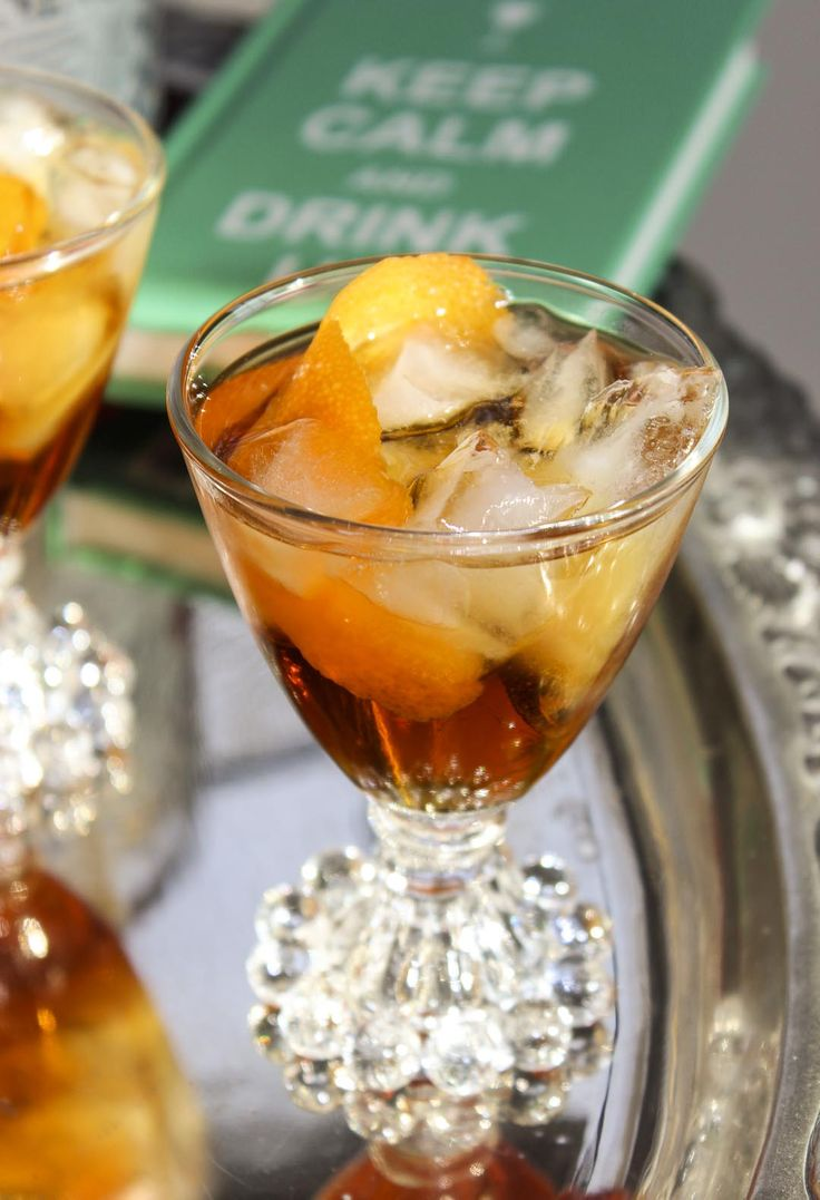 Downton Abbey Cocktail Recipe:The Bittersweet Mr. Bates #AETN #BeMore #Downton