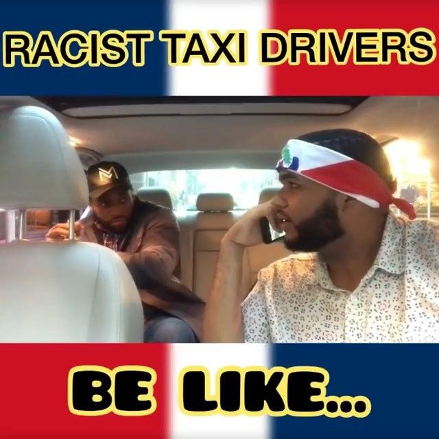 Te pasate @mr_nuevayol it be like that. That ending is true!  These domincan cab drivers be like that w/ @officialchrisgrant #taxi #cab #uber #lyft #nyc #newyork #manhattan #racist #dominican #blackmen #latino #latina #comedy #humor #viral #latinos #meme #jokes #laugh #chiste #risas #popular #yankees #teamdominican #dodgers #baseball @teamdominican