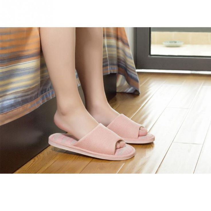 Cheap floor shoes, Buy Quality indoor slippers directly from China style slippers Suppliers: 2017 New Japanese Korean Style Household Linen Striped Skid Slippers Home Indoor Slipper Summer Women Men Lover Floor Shoe