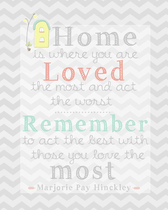 Printable quotes for your home