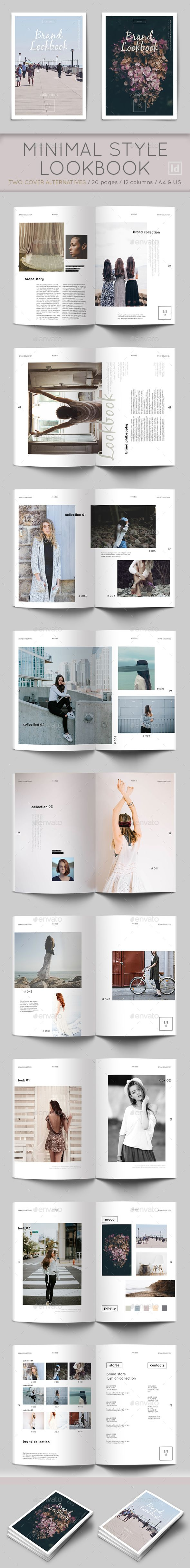 Brand Lookbook Template — InDesign INDD #product #stylish • Download ➝ https://graphicriver.net/item/brand-lookbook-template/18946310?ref=pxcr