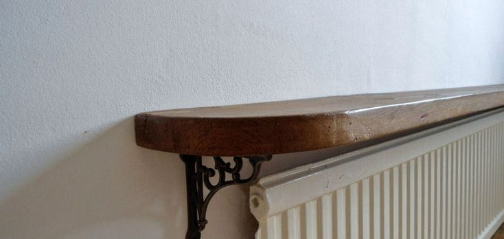 Radiator Shelf Easy Fix Brackets No Drilling Required All Colours and Sizes | eBay