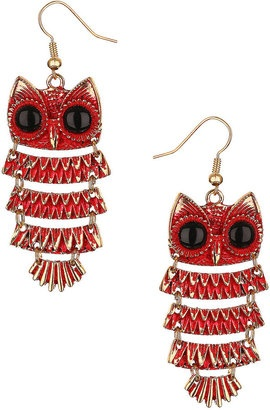 ShopStyle: Articulated Owl Earrings