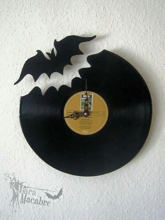 Vinyle horloge