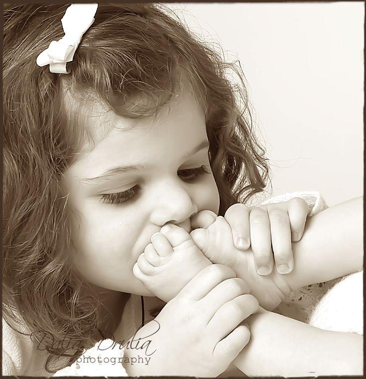 little feet kisses
