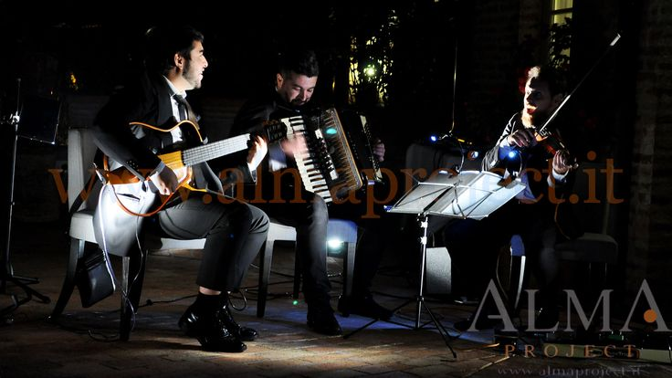 ALMA PROJECT @ Borgo San Felice - Guitar Duo & Accordion - uplights