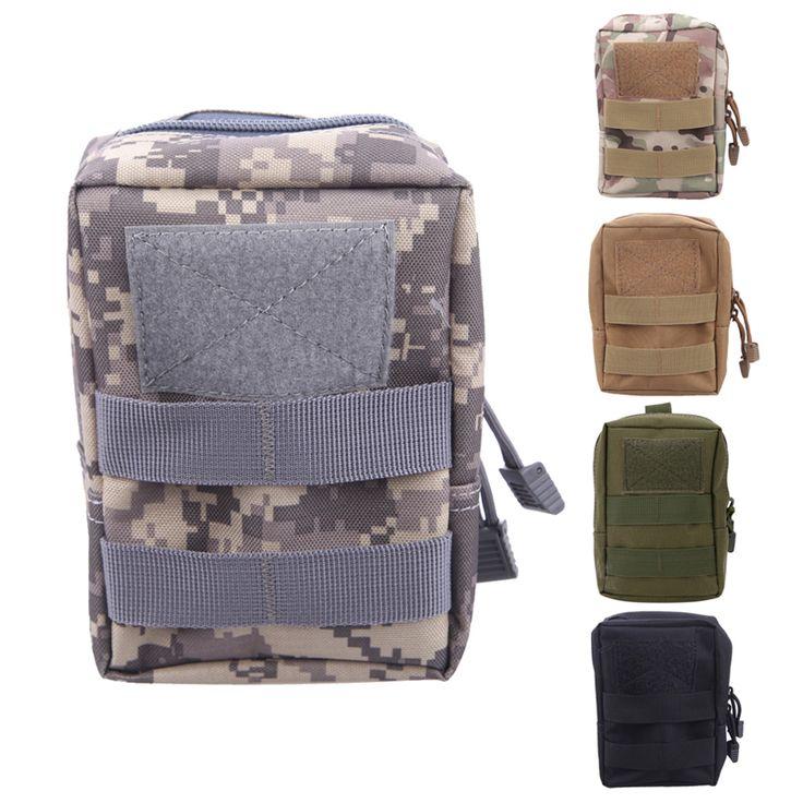 Tactical Molle Pouch Belt Waist Pack Bag Military Nylon Waist Pack Phone Pocket