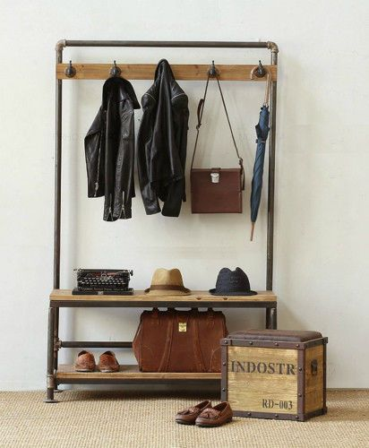 Beautiful Entry Way Shoe Storage