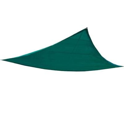 King Canopy 10 ft. W x 10 ft. D Green Triangle Sun Shade Sail-PC2000010G - The Home Depot