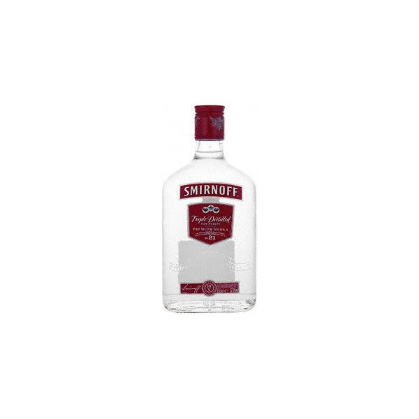 Smirnoff Red Label Vodka (350ml) in ASDA | mySupermarket (40 PLN) ❤ liked on Polyvore featuring fillers, food, drinks, alcohol and food and drink
