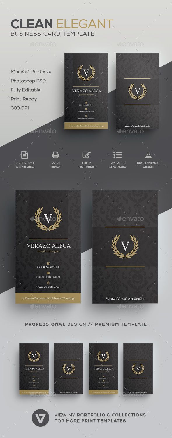 53 best Business Card Template images on Pinterest