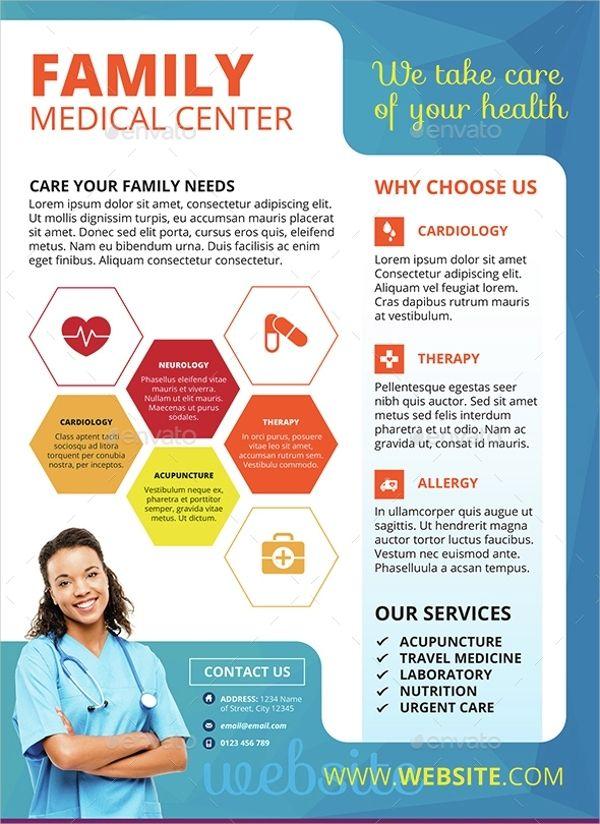 Medical Flyer Template Flyer Template Idea Free Brochure Template Medical Brochure Brochure Template