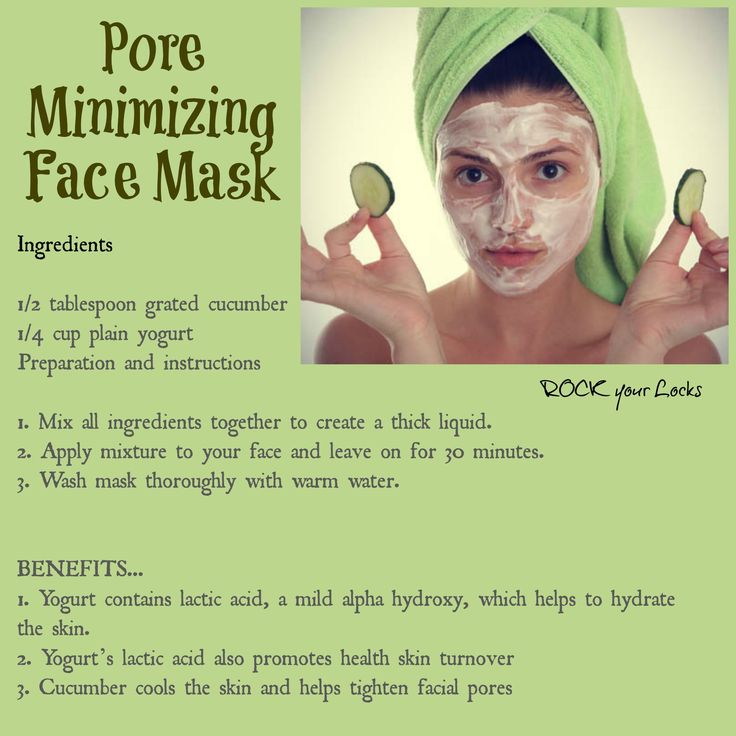 Pore Minimizing Face Mask