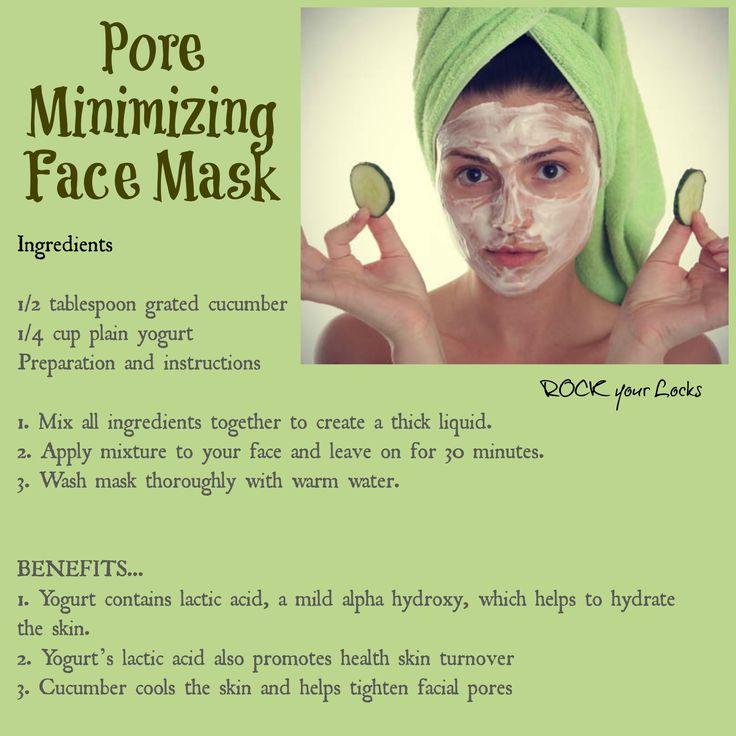Pore Minimizing Face Mask