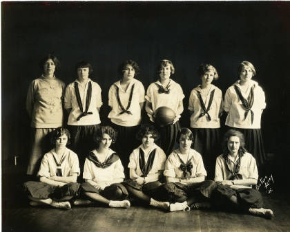 Look how far our Women's basketball team has come! Here's a picture of the team from 1925, courtesy of the Saint Rose archives: http://strosearchives.contentdm.oclc.org/cdm/search/collection/p16074coll6