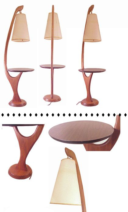 Attractive Picture Of Lamp Table Combo