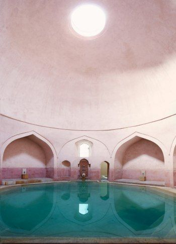 Turkish bath from the sixteenth century