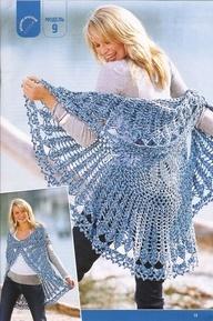 Fantasy Shawl | Free Vintage Crochet Patterns