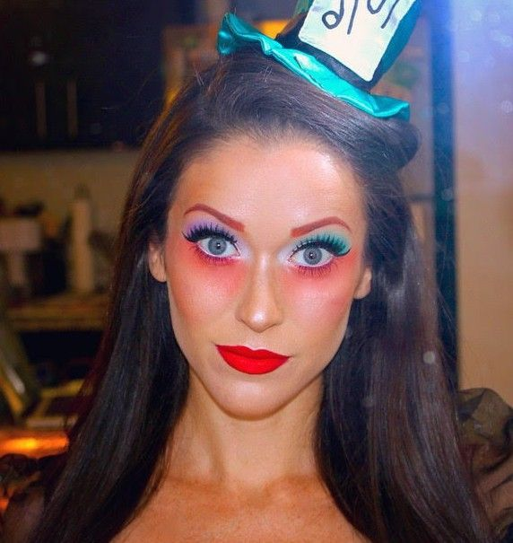 Best 25+ Mad Hatter Makeup Ideas On Pinterest | Mad Hatter Halloween Costume Mad Hatter Cosplay ...