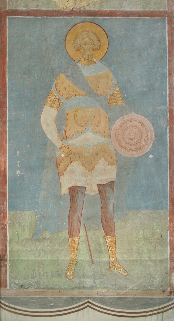 Великомученик Артемий Разрез по южному продольному нефу. Вид на север