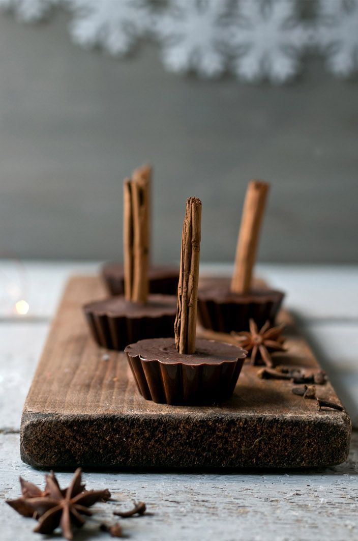 ... spiced cocoa lollipops ... foodlovin.de