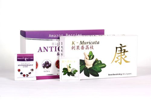 Obat Herbal Kanker Otak Alami Membantu Mengatasi penyakit Kanker Otak Secara Alami teh anti kanker herbal K-Muricata yang dapat digunakan …