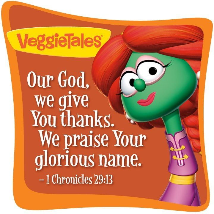 Praise God Teaching Kids Bible Stories Jesus Saves Veggies