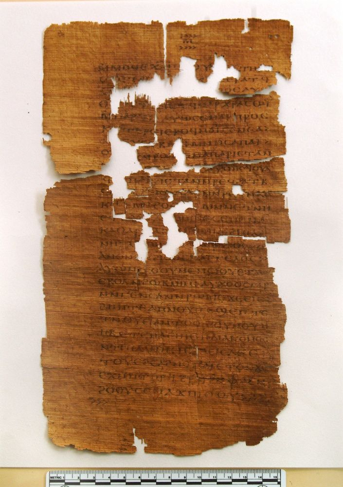 The Gospel of Judas, a text dated to about A.D. 280, tells the story of Judas as a collaborator with Jesus instead of a betrayer.