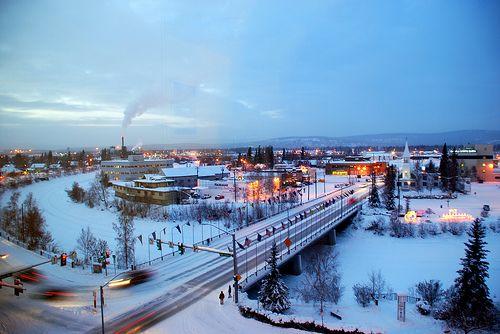 Downtown Fairbanks, Ak