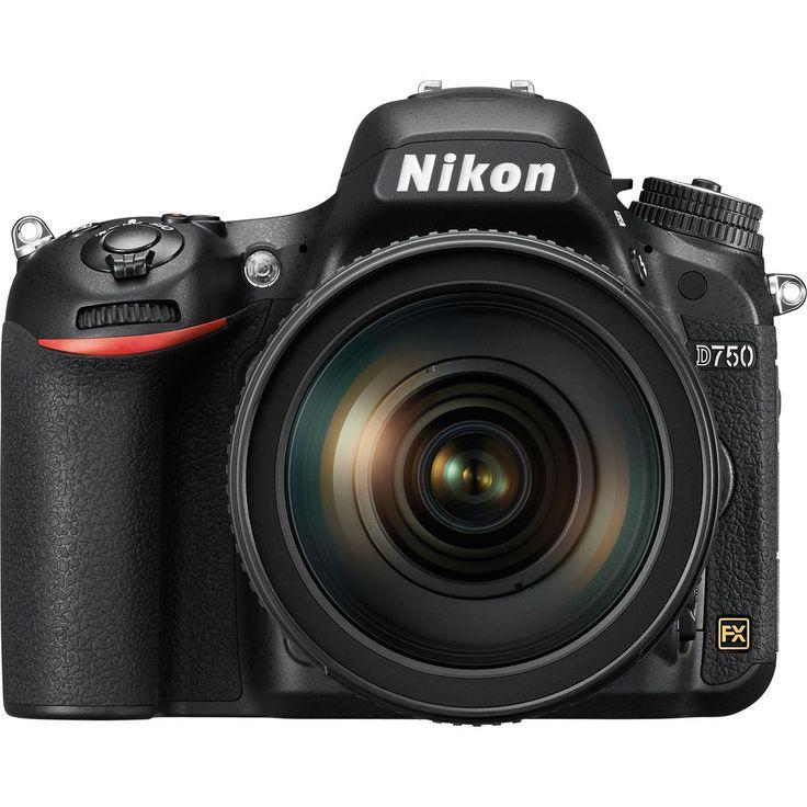 Nikon D750 Digital SLR Camera & 24-120mm f/4 VR Lens