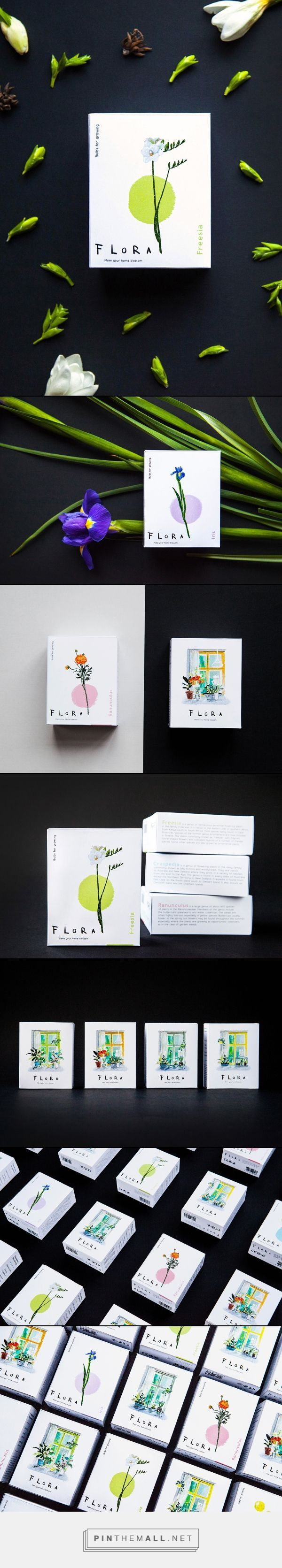 Flora (Concept) on Packaging of the World (Ingredients Design Layout)