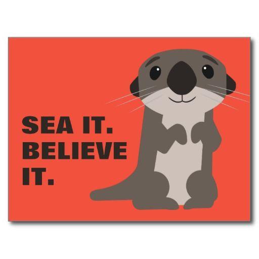 Finding Dory | Otter #tarjeta #postal #postcard