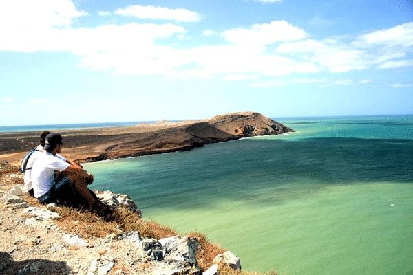 Punta Gallinas, beautiful and wild beachs in La Guajira, Colombia