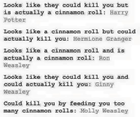 Cinnamon rolls. I approve