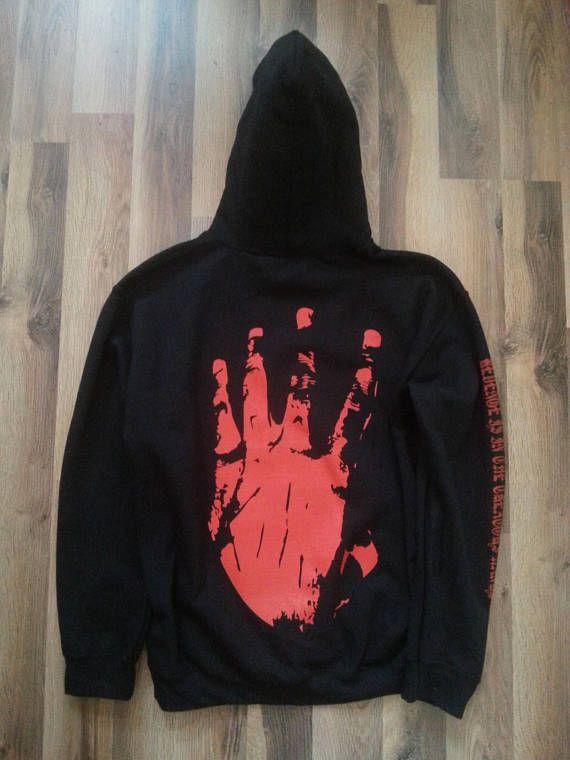 56ced82e74a xxxtentacion Inspired Hoodie, Revenge Hoodie, Revenge Sweatshirt ...