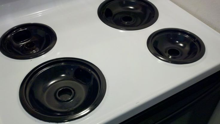 How to get stove burners sparkling clean