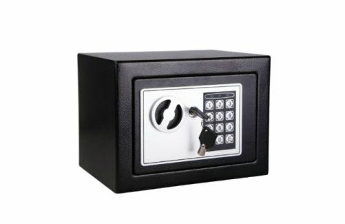 Esta caja fuerte con cerradura #digital y bisagras invisibles, que  está fabricada en chapa de acero, se puede instalar en la pared o en el suelo. Estamos seguros de que cumplirá con creces todas tus necesidades en cuanto a #seguridad se refiere