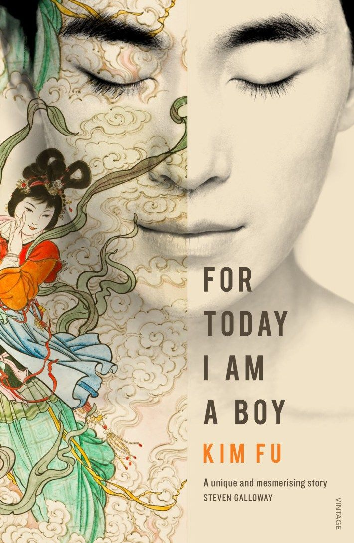 For Today I Am A Boy, by Kim Fu. Cover designed by Natalie Winter