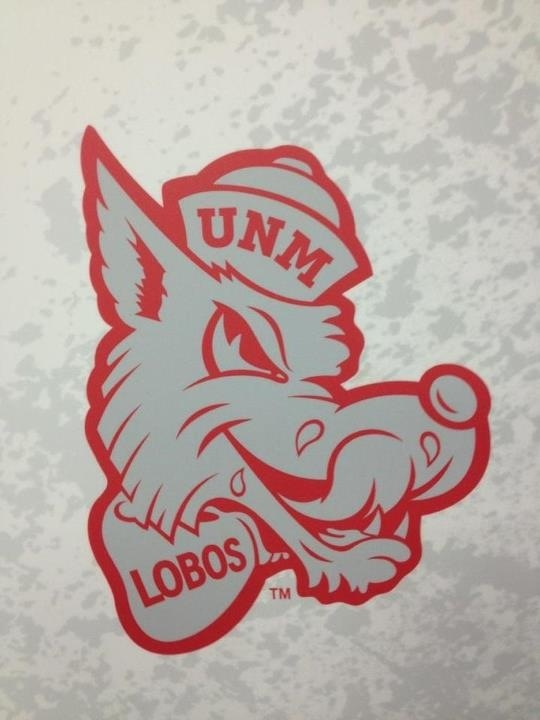 The Licking Lobo Logo! This was our throwback logo for the ...