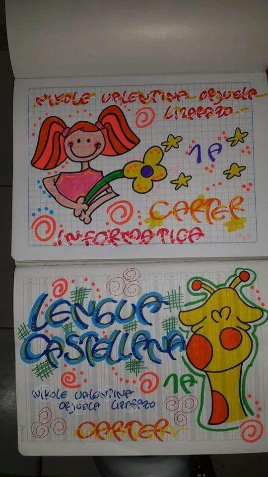 Letras De Decoracion Para Cuadernos ~ M?s de 1000 ideas sobre Como Marcar Cuadernos en Pinterest  Marcar