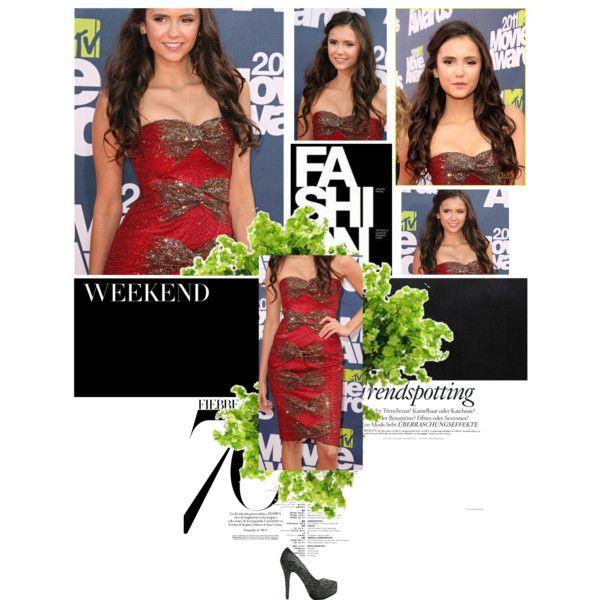 Nina at MTV Movie Awards xx, created by preecylove on Polyvore