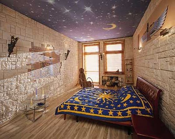 Egyptian home design exotic look in egyptian home for Egyptian themed bedroom ideas