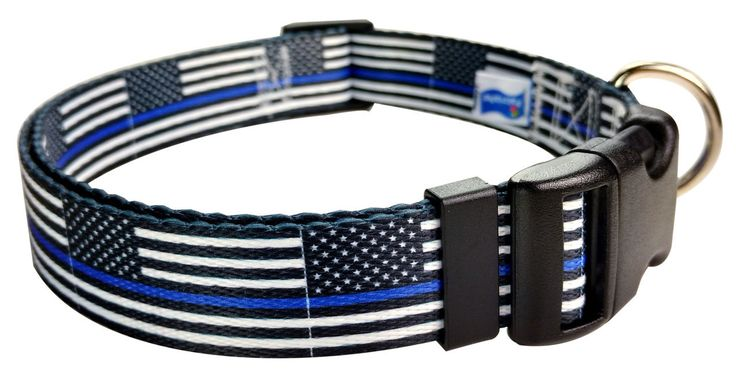 Flagcollars.com - Thin Blue Line Law Enforcement Flag Dog Collar Benefits Police Unity Tour, $18.00 (http://www.flagcollars.com/thin-blue-line-law-enforcement-flag-dog-collar-benefits-police-unity-tour/)